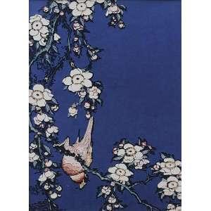 VIK MUNIZ (1961), BULFINCH AND WEEPING CHERRY, FROM SMALL FLOWERS AFTER HOUKUSAI, 2010 - Série Picture of paper - Edição 16 de 20 - Midia Digital C Print - Ass. no label no verso - 70 x 50 cm