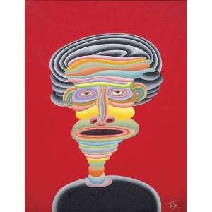 ROBERTO MAGALHÃES (1940), CARNAVALESCO, 1996. Óleo s/ tela - Ass. e datado - Peça com certificado do artista - 65 x 50 cm