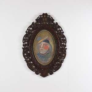 ALOYSIO ZALUAR ( 1937) FAZES, 1986 - Óleo s/ tela -Ass. embaixo - 70 x 50 cm - Apresenta certificado de autenticidade emitido pelo artista