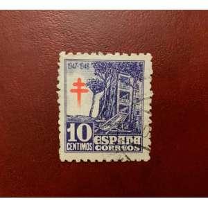 1947 Selos da Espanha (1018). Pro Tuberculose.