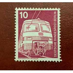 Selo alemão em homenagem ao trabalho. dec 1970