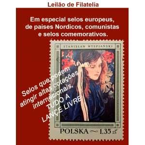 Galeria Ruptura - Leilão de Filatelia. Selos que podem atingir altas cotações internacionais, TUDO A LANCE LIVRE