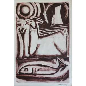 Calasans Neto - gravura - 47x32cm - acid - 1979