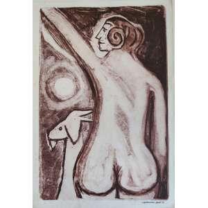 Calasans Neto - gravura off set - 47x32cm - acid - 1979
