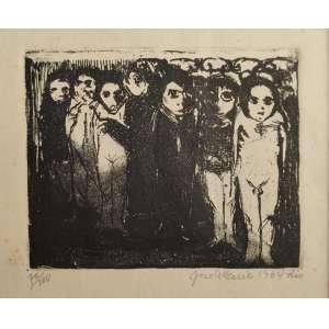 José Maria - xilogravura - tiragem 70/100 - 12x15cm - acid - Rio, 1964