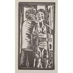 Lasar Segall - xilogravura - 16x9cm