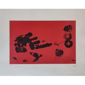 Antoni Clavé - gravura - 26x40cm - acid - s/data