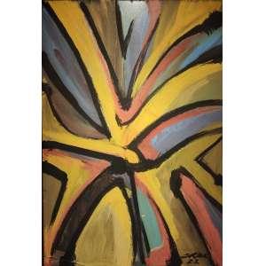 Mário Cravo Jr - acrílica sobre Eucatex - 61x41,5cm - acid - 2002