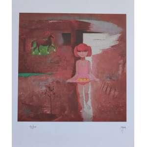 Floriano Teixeira - gravura - 55cm x 46cm - tiragem 41/100 - acid (sem moldura)