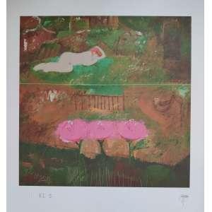 Floriano Teixeira - gravura - 55cm x 46cm - tiragem PI I - acid (sem moldura)