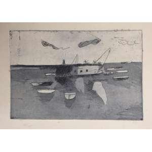 Jenner Augusto - gravura em água forte - tiragem 24/25 - 33cm x 22cm - acid - 1997