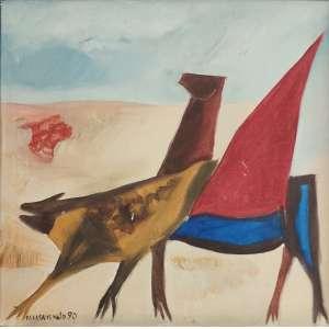 Calasans Neto - ost - 40x40cm - acie - 1990