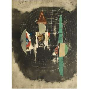Johny Friedlaender - gravura em metal - 76x57cm - acid