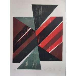 Emanoel Araújo- xilogravura - tiragem 16/50 - 76x56cm ME - acid - 1975 (sem moldura)