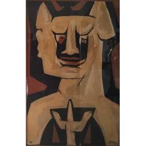 Mário Cravo Jr. - gravura - tiragem 28/40 - 99x63cm - acid - 1992 (com moldura 103x68cm)