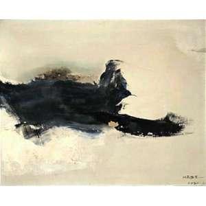 Manabu Mabe - Sem título - óleo sobre tela – medindo 38x46cm. assinado e datado 60/61 no canto inferior direito.