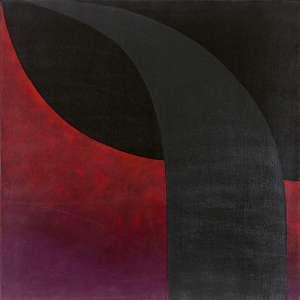 Tomie Ohtake - Sem título - óleo sobre tela – medindo 100x100cm. assinado e datado 86 no canto inferior direito. (Registrado no Instituto sob nºP86-42).