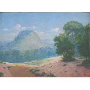 Campos Ayres - Paisagem - óleo sobre madeira – medindo 27x36cm.- assinado no canto inferior direito.
