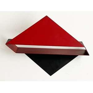 Emanoel Araújo - Sem título - escultura em aço - medindo 45x31x16cm.- tiragem 278/300 - assinado na peça. (No estado).