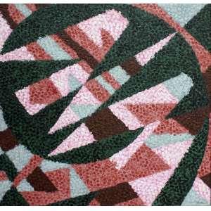 Cláudio Tozzi, Sem Título, Acrílica sobre tela, 57 alt X 57 larg (cm), acid e verso, Ano: 1990