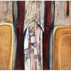 Dina Oliveira, Relação Movel, Óleo sobre tela e colagem, 100 alt X 100 larg (cm), acid e verso, Ano: 1990