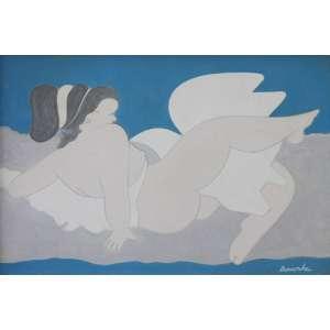 Milton da Costa, Venus, Óleo sobre tela, 16 alt X 22 larg (cm), acid e verso