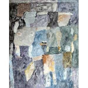 Thomaz Ianelli, Composição em cinza, Óleo sobre tela, 80 alt X 60 larg (cm), acid