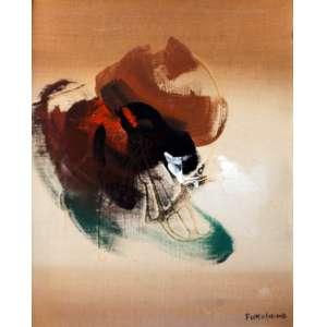 Fukushima, Abstrato, Óleo sobre tela, 40 alt X 33 larg (cm), acid