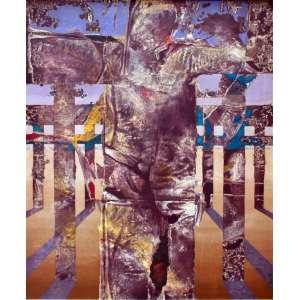 Carmélio Cruz, Sudário, Óleo sobre tela, 100 alt X 80 larg (cm), acid
