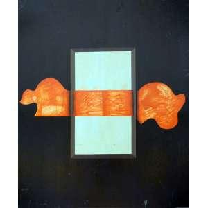 Ivald Granato, Espécie, Óleo sobre placa, 48 alt X 37 larg (cm), ass. no verso, Ano: 1973