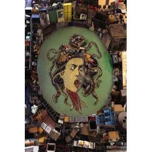 Vik Muniz, Medusa a partir de Caravaggio, Cópia cromogênica, 230 alt X 180 larg (cm) -Histórico: Reproduzido no livro do artista, pág. 564, editora Capivara ( com certificado emitido pela galeria pinakotheke e selo do atelier do artista
