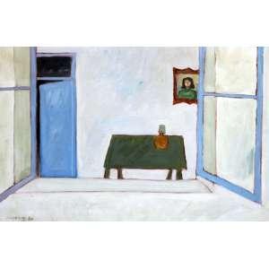 Fang Chen Kong, Mesa Verde, Óleo sobre tela, 62 alt X 87 larg (cm), acie, Ano: 1980