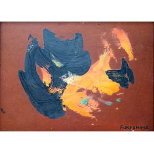 Fukushima, Abstrato, Óleo sobre placa, 16 alt X 20 larg (cm), acid