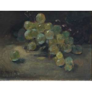 Dario Mecatti, uva, Óleo sobre tela, 20 alt X 15 larg (cm), acid