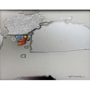 Fukuda, Abstrato, Técnica mista sobre papel, 20 alt X 22 larg (cm), acid