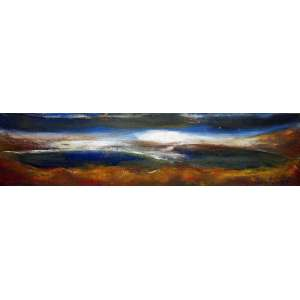Jose de Dome, Praia, Óleo sobre tela, 17 alt X 62 larg (cm), acid, Ano: 1973