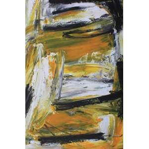 Rogério Tunes, Abstrato, Acrílica sobre tela, 130 alt X 90 larg (cm), ass. no verso, Ano: 2007