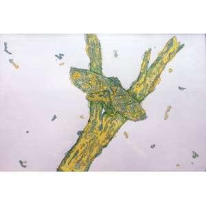 Paulo Climachauska, Boneca de Trapo, Desenho, 39 alt X 77 larg (cm), ass. no verso, Ano: 2007