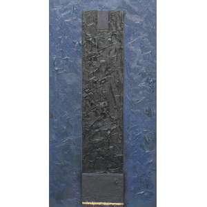 Eduardo Sued, Osiris, Óleo sobre tela, 70 alt X 35 larg (cm), ass. no verso, Ano: 2004