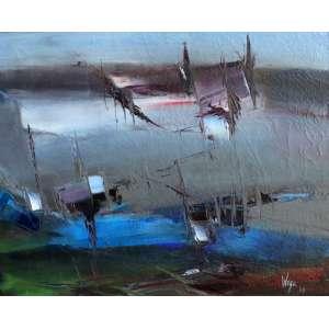 Wega Nery, Abstrato, Óleo sobre tela, 40 alt X 50 larg (cm), acid, Ano: 1968