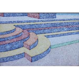 Cláudio Tozzi, Passagem, Acrílica sobre tela, 64 alt X 92 larg (cm), acid e verso, Ano: 1995