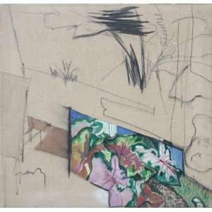 Wesley Duke Lee, Parati, Recanto, Acrílica sobre tela, 70 alt X 70 larg (cm), acie, Ano: 1972 - -Histórico: Com selo do atelier do artista no Verso -