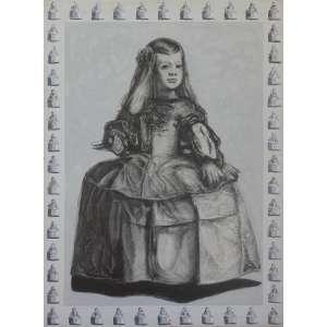 Nelson Screnci, As Meninas nos Espelhos, Ensaio N°1, acrílica e grafite sobre tela, 150 alt X 110 larg (cm), acid, Ano: 1996