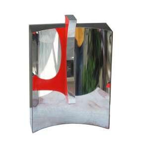Yutaka Toyota, Espaço IN Verde, Escultura em Aço Inox e Madeir, 23 alt (cm), ass. na peça, Ano: 2003, 9/9