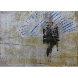 Rubens Gerchman, Below the equator, Técnica mista sobre papel, 26 alt X 37 larg (cm), acid, Ano: 1974