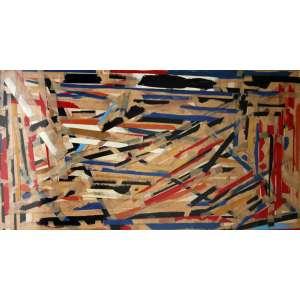 Niobe Xandó, Composição II, Colagem sobre papel, 15 alt X 18 larg (cm), acie