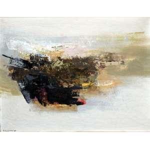Fukushima, Abstrato, Óleo sobre tela, 60 alt X 73 larg (cm), acie, Ano: 1960
