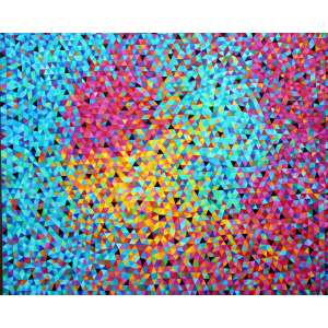 Marísia Portinari, Stella Fireworks, Óleo sobre tela, 100 alt X 130 larg (cm), ass. no verso, Ano: 2016