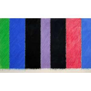 Eduardo Sued, Composição Geometrica, Técnica mista sobre papel, 54 alt X 80 larg (cm), acid, Ano: 1984