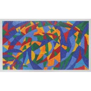 Cláudio Tozzi, Composição, Serigrafia, 70 alt X 100 larg (cm), acid, 67/70